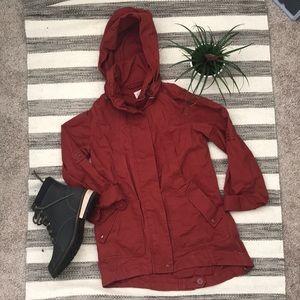 Beautiful deep red jacket